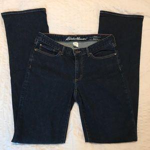Eddie Bauer TALL Curvy Dark Rinse Bootcut Jeans